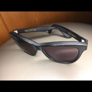 Wildfox Couture Catfarer Black Sunglasses